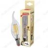 Лампа светодиодная 220В/  5Вт/ E14/ 2700К (теплый белый) (L364)/ 450lm (EcoLedFL5wCWE1427);