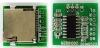 Радиоконструктор Аудиоплеер MP3 с microSD RS023 (сверхминиатюрный ) Формат аудиофайлов: MP3, WAV; Тип и объем карт памяти: micro-SD, до 32 Гб