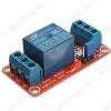 Модуль Реле, 1-канальное 5В, с опторазвязкой, SDR-05VDC-SL-C (FL-3FF-S-Z) управляющее напряжение 5В, подключаемая нагрузка до 10А, 30В DC, 250В AC.