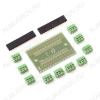 Плата расширения Arduino Nano Shield (нераспаянный), упрощает подключение к контроллеру внешних устройств (через винтовые клеммы)