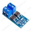 Модуль MOSFET транзистора D4184 (силовой ключ), позволяет получить ШИМ до 36В Рабочее напряжение: 3.3-20В; Выходное напряжение: 0-36 В; Выходной ток нагрузки: 15А (до 30А при наличии дополниельного охлаждения); Мощность: 400Вт;
