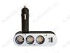 Разветвитель прикуривателя 3 в 1 + USB-разъем (арт. G4005)