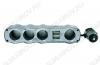 Разветвитель прикуривателя 4 в 1 + 2 USB-разъема (арт. G4006) WF-4008 12V (12-16V), 5A, 60W, 2USB 5V 1A, шнур 0.5м