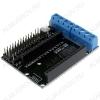 Плата расширения - драйвер моторов, для модулей NodeMCU, на базе L293D.
