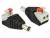 Разъем (1005) DJK-11A с быстрозажимной колодкой Штекер на кабель, 5.5х2.1мм