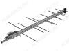 Антенна наружная Печора-DX активная ДМВ/DVB-T2; 32dB; блок питания 5V; без кабеля; F-разъем