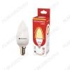 Лампа светодиодная 220В/  9Вт/ E14/ 3000К (теплый белый) (L418)/ 800lm (Eco_LED9wCNE1430);