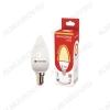 Лампа светодиодная 220В/  9Вт/ E14/ 6500К (холодный белый) (L420)/ 850lm (Eco_LED9wCNE1465);