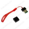Card Reader (05) USB2.0; поддержка microSD; шнурок