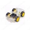 Набор-конструктор 4-х колесного шасси Колесная платформа с возможностью установки различных модулей.