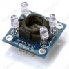Датчик цвета GY-31 TCS230 TCS3200, позволяет распознать цвет объекта с расстояния до 1см.