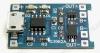 Радиоконструктор Контроллер заряда и разряда Li-Ion АКБ RP038 (на TP4056+DW01+ML8205A) Готовый модуль на базе микросхем: TP4056(контроллер заряда) + DW01(схема защиты) + ML8205A(сдвоенный ключ MOSFET)