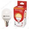 Лампа светодиодная 220В/  9Вт/ E27/ 4500К (дневной белый) (L428)/ 850lm (Eco_LED9wGL45E2745);
