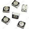 Светодиод PLCC-2  SMD1411(3528) RGB 150mcd/300mcd/95mcd 120°; 20мA; 620nm/520nm/470nm; прозрачный
