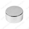 Неодимовый магнит диск 20х10 мм Сила сцепления 11кг; вес 24гр;
