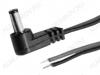 Разъем (1018) DJK-11L с проводом 1.8м угловой Штекер на кабель, 5.5х1.7мм