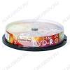 DVD-R диск 4.7Gb 16xspeed CB 10шт