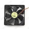 Вентилятор 12VDC 120*120*25mm FANCASE3/BALL 3-pin с датчиком оборотов 0.22A; 25dB; 2500 об;