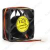 Вентилятор 12VDC 60*60*25mm D6025SM-3 3-pin с датчиком оборотов 0.12A; 25dB; 4000 об;