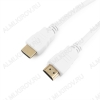 Шнур (CC-HDMI4-W-1M) HDMI шт/HDMI шт 1.0м (ver 2.0) белый Plastic-Gold