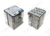 Реле 62.33.8.230.0040 (623382300040)   Тип 29 230VAC 3C(TPDT) 16A 38.2*38.2*49.1mm; блокируемая кнопка проверки + механический индикатор