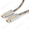 Шнур (CC-P-HDMI02-3M) HDMI шт/HDMI шт 3.0м (ver 2.0) 3D, UHD 4K/60Hz, 18Gbit/s серия Platinum, нейлоновая оплетка, блистер