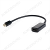Переходник (22052) MINI DISPLAYPORT штекер/HDMI гнездо с кабелем 0.15м (A-mDPM-HDMIF-02)