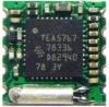 Радиоконструктор Радиоприёмник FM RF003 (на TEA5767) Напряжение питания: 2,7...3,3 В; Диапазон частот: 76...108 МГц; Потребление: не более 60 мВт; Тюнер: цифровой ; Рамзеры: 11 x 11 x 4 мм; Масса 0,25 г