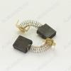 Щетки графитовые 7х17х17 (A0229B) пружина, пятак, уши, (2 шт) для Интерскол ДП-2000Wt