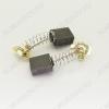 Щетки графитовые 8х14.5х17 (A0231) пружина, пятак, уши, (2 шт) для Интерскол УШМ-2300Wt