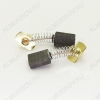 Щетки графитовые 6х11х17 (566) пружина, прямоугольный пятак, уши, (2 шт) для Интерскол ПЦ-16-01