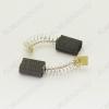 Щетки графитовые 6х11х16 (A0236) пружина, прямоугольный пятак, (2 шт) для Интерскол ДП-1200Wt