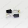Щетки графитовые 5х9х12 (A0237) пружина, пятак (2 шт) для Интерскол Р-82ТС