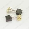 Щетки графитовые 7х17х14 (A0238) пружина, пятак, уши, (2 шт) для Интерскол ПЦ-16Т