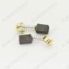 Щетки графитовые 5х8х11 (A0241) пружина, пятак, зацепы, (2 шт) для Интерскол ДЭ-500ЭР