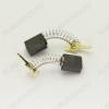 Щетки графитовые 6х11х13.5 (A0396) пружина, квадратный пятак с ухом, (2 шт) для Интерскол ДУ-16/1000ЭР