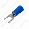 Клемма вилочная (№53) d=4.3мм SV2-4 изолированная сечение 1.5-2.5 мм2; синяя