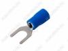 Клемма вилочная (№56) d=5.3мм SV2-5 изолированная сечение 1.5-2.5 мм2; синяя