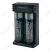 Зарядное устройство Li-2 для 1-2шт Li-ion аккум. 18650, 26650, 16340 (RCR 123A), 14500, 10440, 22650, 20700, 21700, 17670, 17500, 18490, 18500, 17355 автоматическая обраб