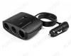Разветвитель прикуривателя 3 в 1 + 2 USB (G4023) 2 USB выхода по 5В, 0,5A