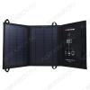 Солнечное зарядное устройство 11Вт SLM11 Выход USB: 5,5В/1.85А 2шт.;в развернутом виде 580х255х15 мм., в свернутом виде 255х195х20 мм.;0,56кг.