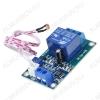 Модуль Реле, 1-канальное 12В с датчиком света (XH-M131) Напряжение питания: 12В; Коммутируемое напряжение: до 30В DC, до 250В AC; Коммутируемый ток: 10А
