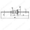 Диод Д237Ж Si-Di;400V,0.4A