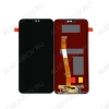 Дисплей для Huawei P20 Lite (ANE-LX1)/ Nova 3E + тачскрин черный оригинал с рамкой
