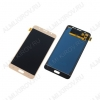 Дисплей для Samsung J710FN/DS Galaxy J7 + тачскрин золото, копия (яркость регулируется)
