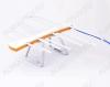 Антенна комнатная ЁЛКА АРА-040 активная бело-оранжевая ДМВ/DVB-T2; 20dB; питание 5V от ресивера; с кабелем 1.8м