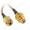 Адаптер антенный SMA шт/SMA гн для роутеров Huawei, ZTE и др.
