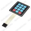 Модуль Клавиатура гибкая матричная 12 кнопок, 3х4 Максимальное напряжение: 35 В; Максимальный ток: 100 мА; Размеры: 77x68x1 мм; Сопротивление изоляции: 100 МОм; Вес: 10 г