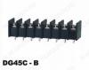 Клеммник барьерный DG45C-B-04P-13-00A(H) 300V; 20A: 4pin: Шаг 9.5мм; винтовой