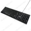 Клавиатура GK-120 Black поверхность карбон проводная, USB, кабель 1,5 м, Размеры 439*135*21 мм, Вес: 365 г